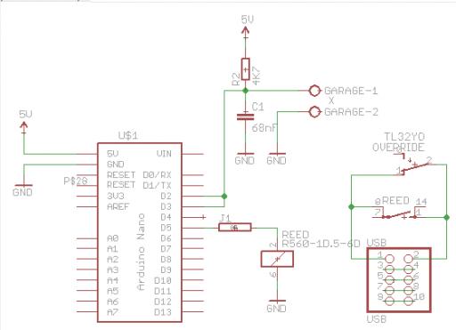 USB dongle schematics